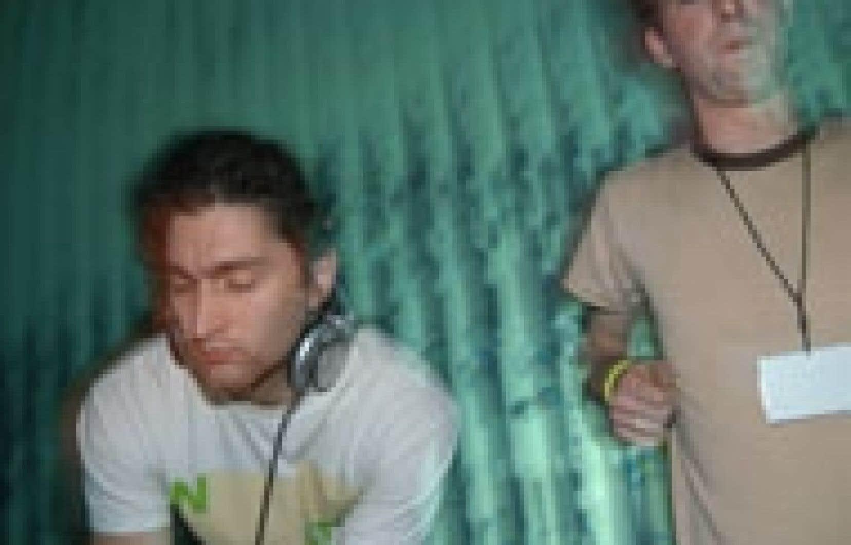 Les membres de Crackhaus: Scott Monteith et Steve Beaupré. Source: Off festival d'été de québec