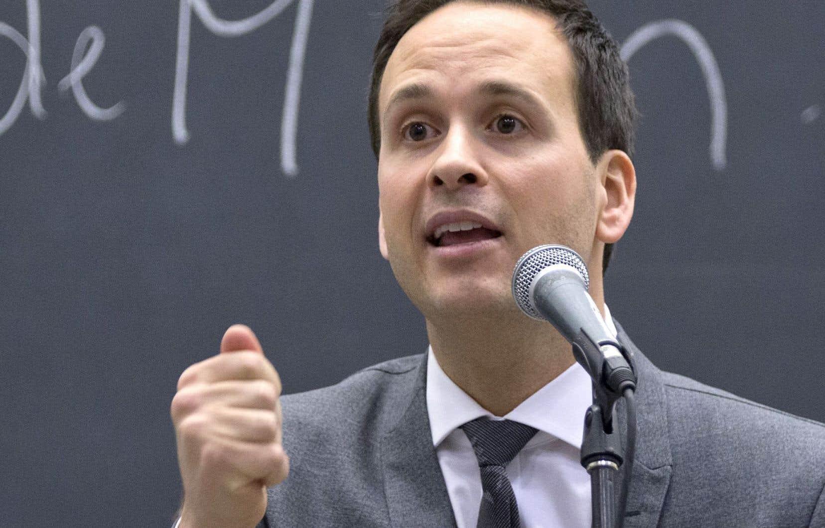 La proposition du candidat à la direction du Parti québécois, Alexandre Cloutier (notre photo), mène à un cul-de-sac, croit l'ancien ministre Paul Bégin.