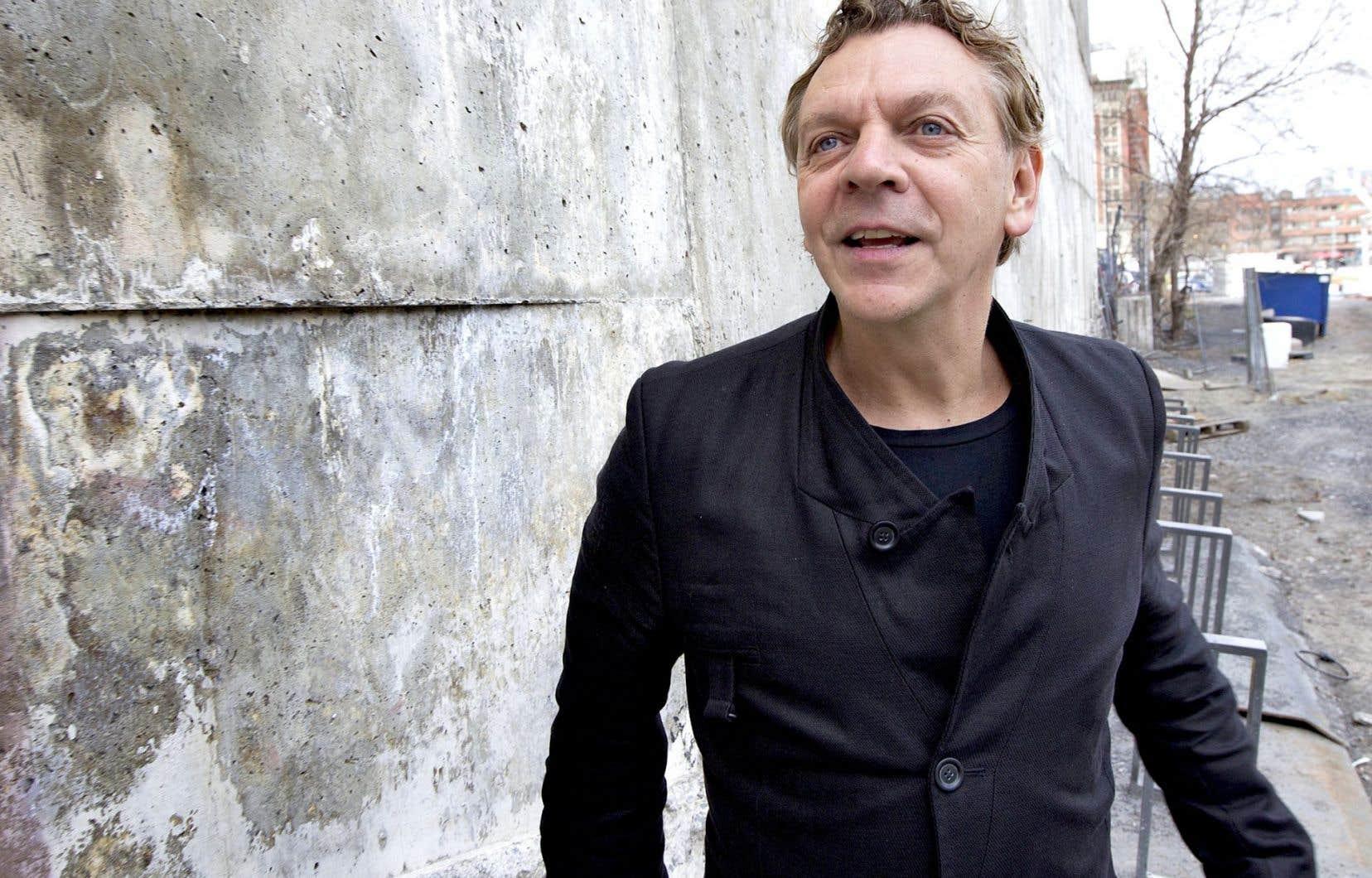 Marc Labrèche, qui a joué dans L'âge des ténèbres et Whitewash, donnera une leçon de cinéma ce mardi.