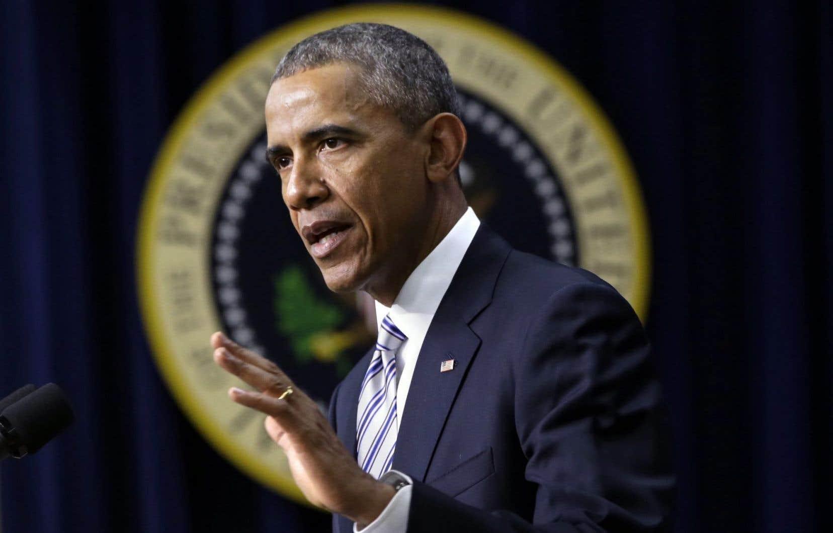 En usant de son veto, le président Obama souhaite conserver son pouvoir de décision sur ce projet très controversé, en particulier pour des raisons environnementales.