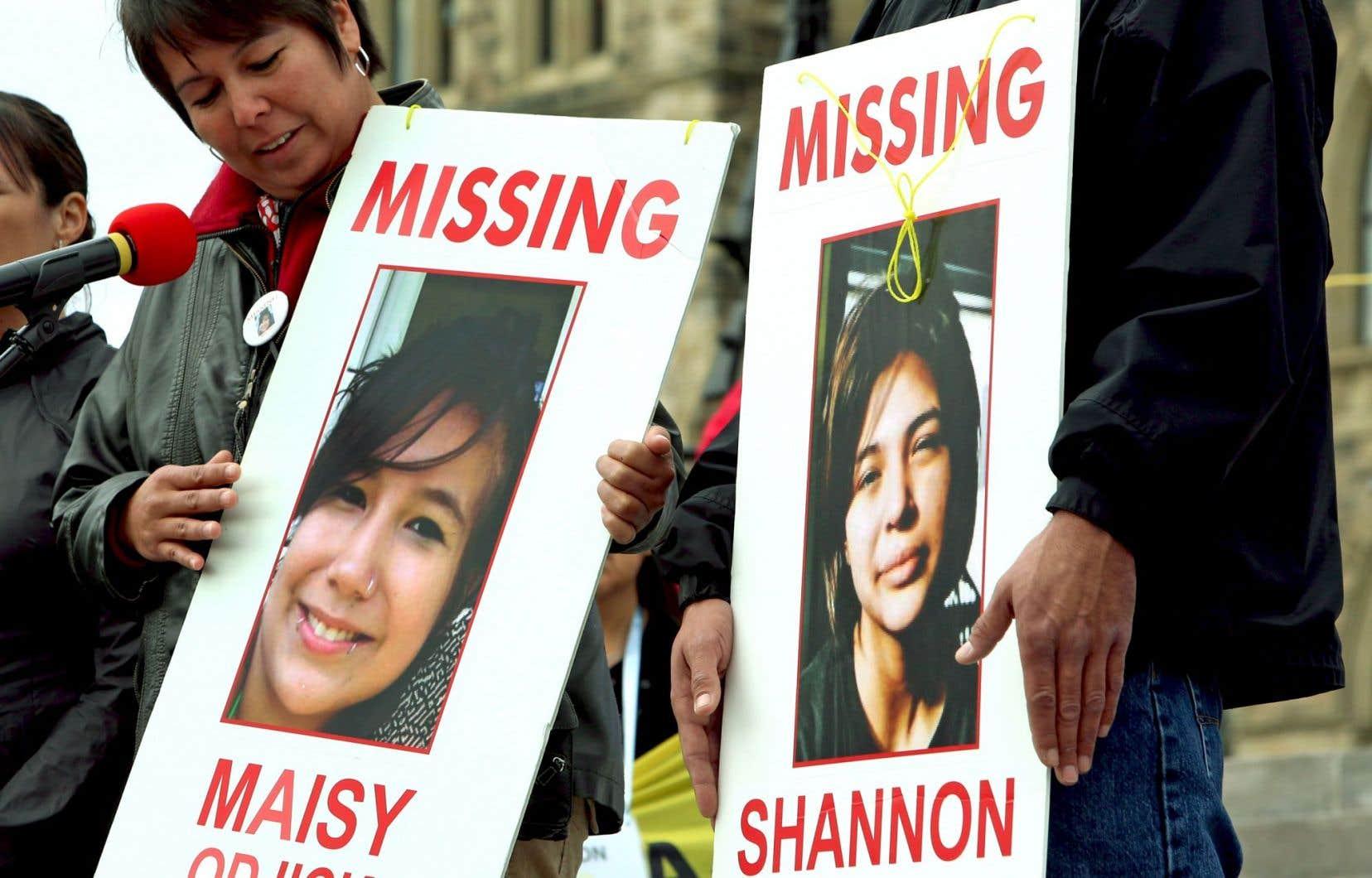 L'organisme Femmes autochtones du Québec (FAQ) souhaite qu'une stratégie utilisant les médias sociaux soit utilisée pour diffuser les cas de disparition de femmes autochtones.