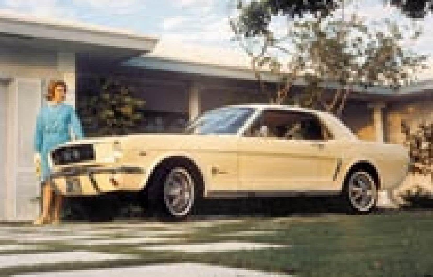 La Mustang, compagnon de route de monsieur... et madame!