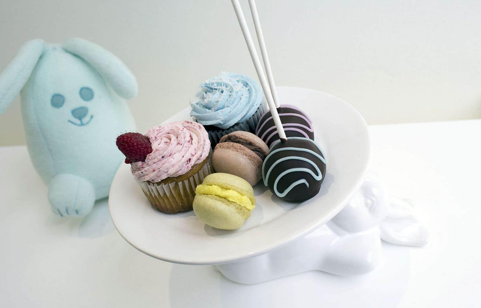 Des pâtisseries qu'on peut retrouver au Petit Lapin, une pâtisserie où même les personnes allergiques peuvent se sucrer le bec sans crainte.