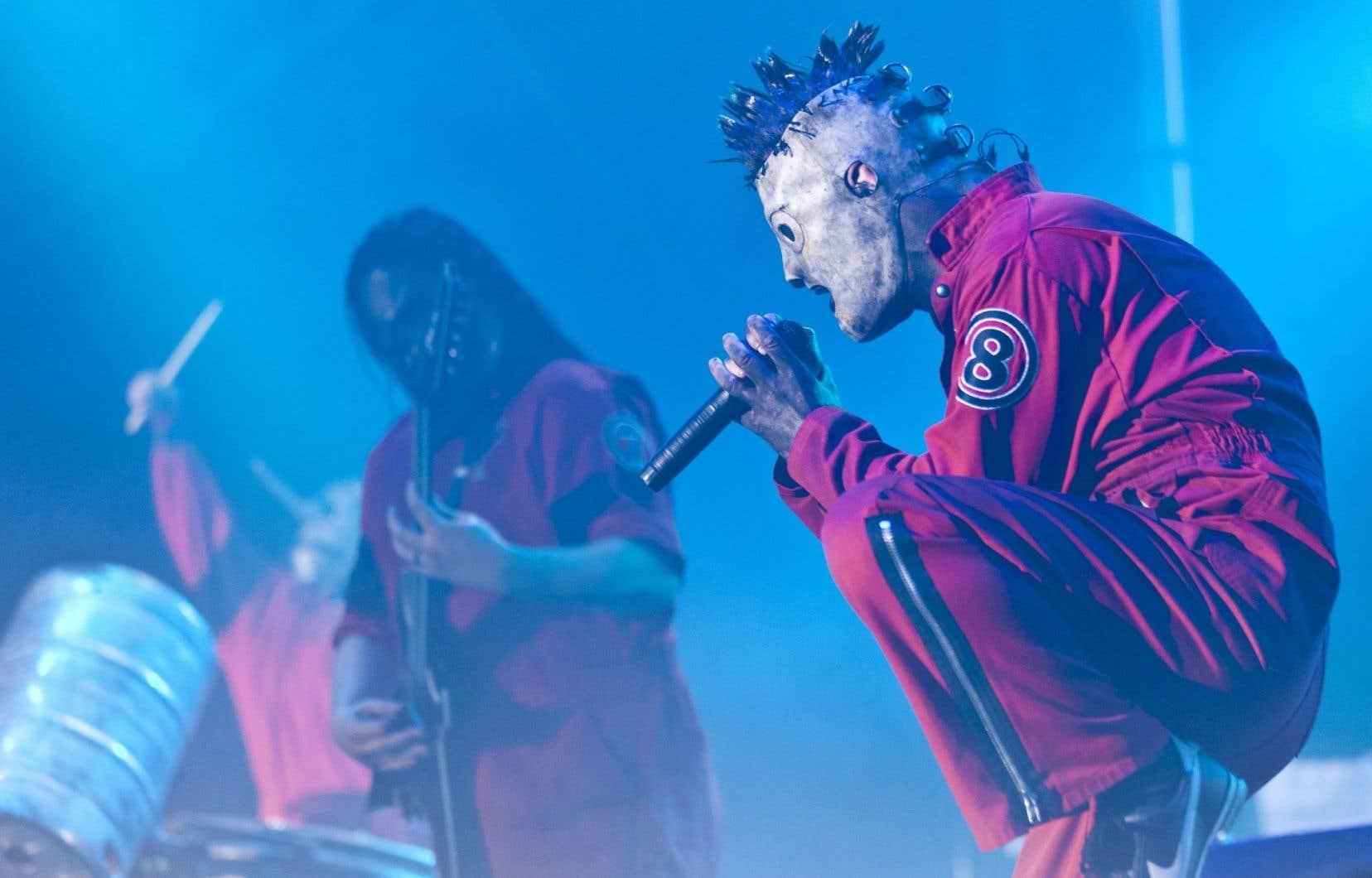 Faith No More, Korn et Slipknot (sur la photo) seront du Heavy Montréal 2015. Les festivaliers pourront aussi varier les genres, puisque l'ouverture au punk et au rock reste de mise.