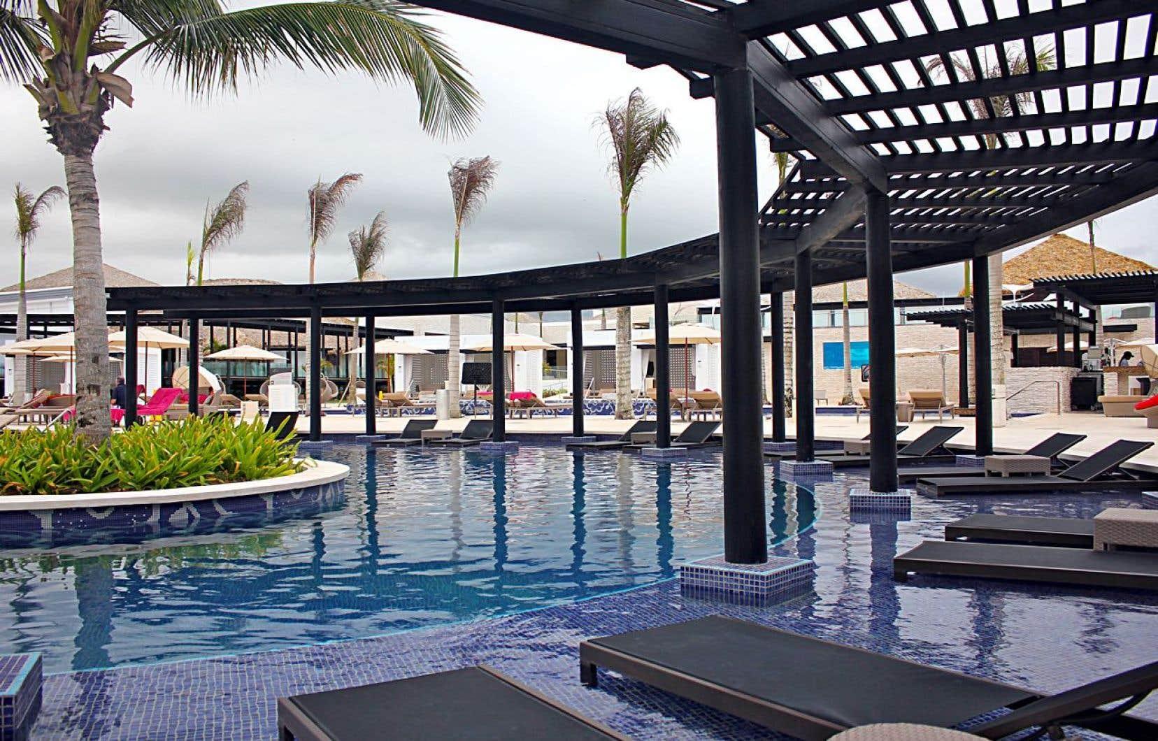 Un secteur de l'hôtel Chic by Royalton de Punta Cana