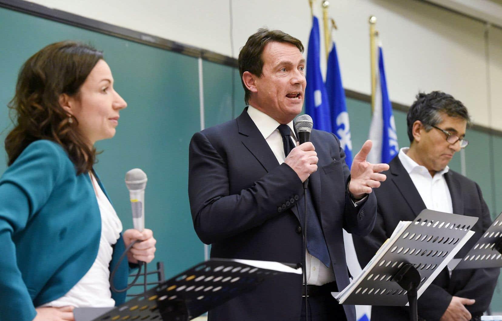 Pierre Karl Péladeau a précisé que la diversité était une grande richesse pour le Québec.
