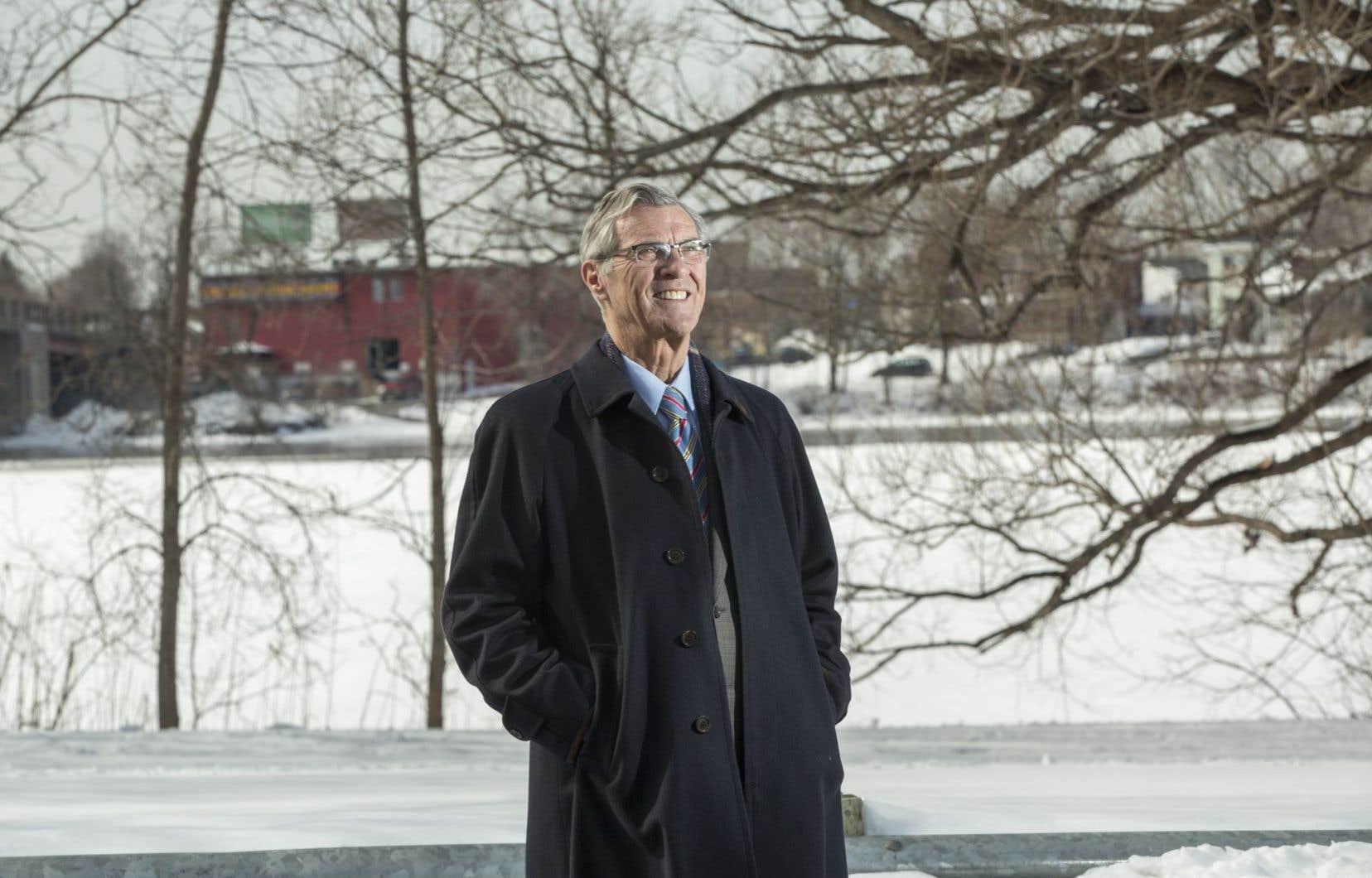Pierre Gagnier,le maire de l'arrondissement Ahuntsic-Cartierville
