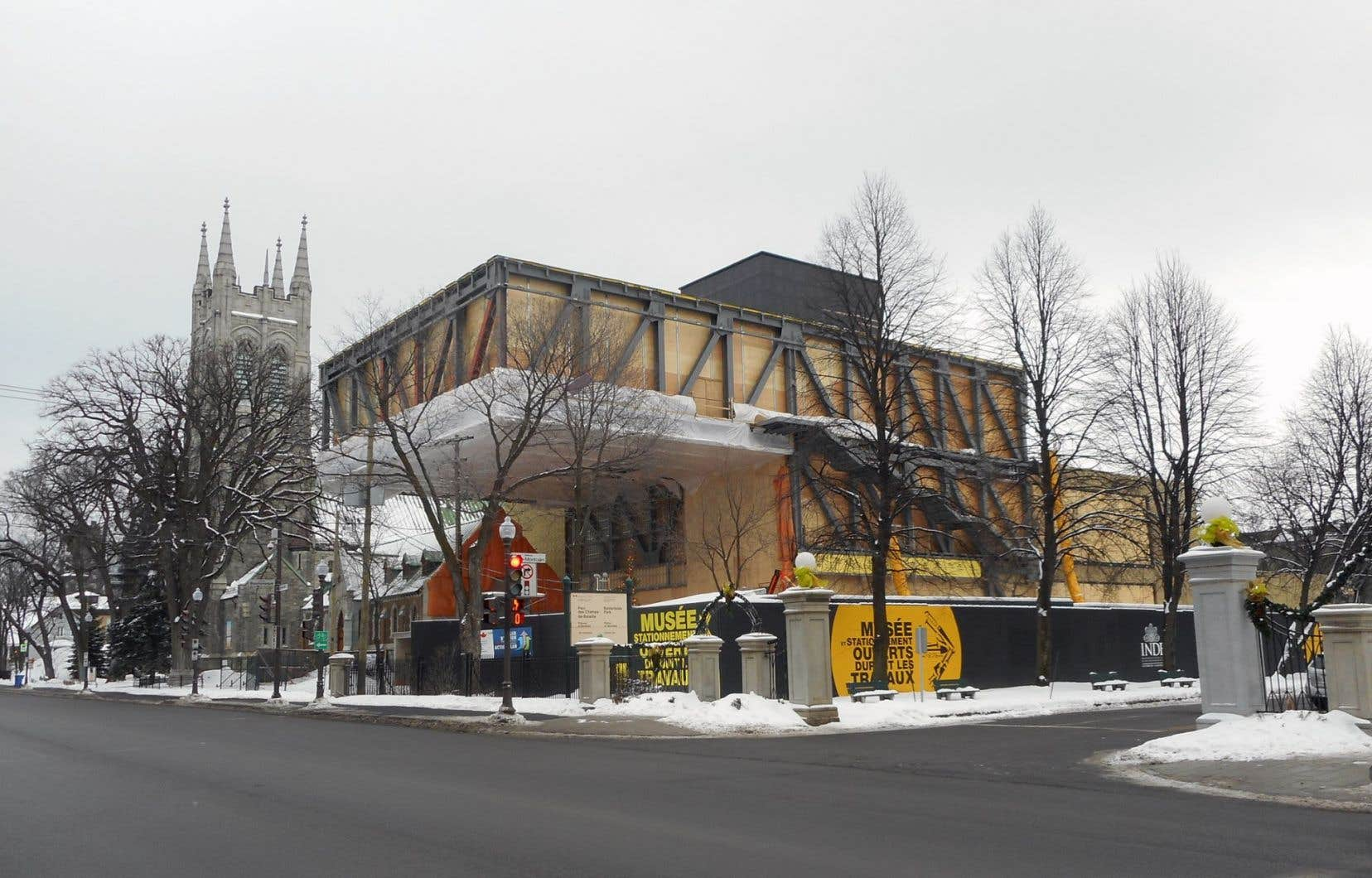 Le nouveau pavillon Pierre Lassonde du musée doit ouvrir ses portes au printemps 2016