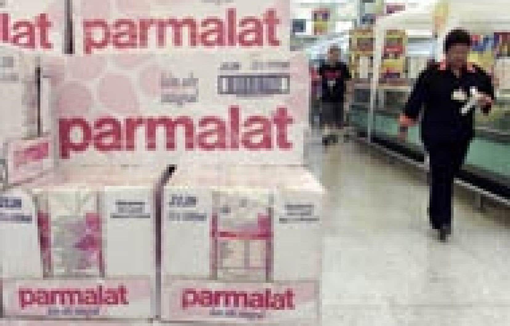 Parmi les marques que le groupe entend conserver, le plan retient deux marques globales — Parmalat (lait) et Santal (jus de fruits) — et certaines marques locales «fortes» — Astro et Lactantia au Canada.