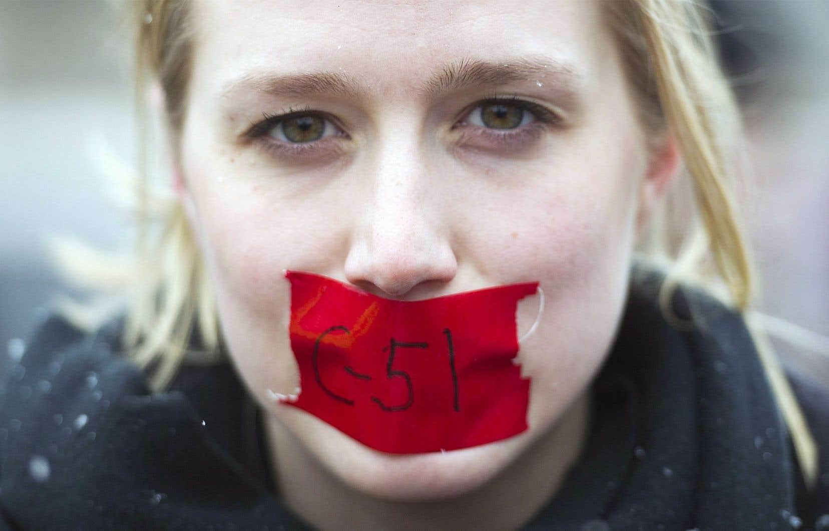 Le regroupement d'avocats craint une chasse au discours politique.