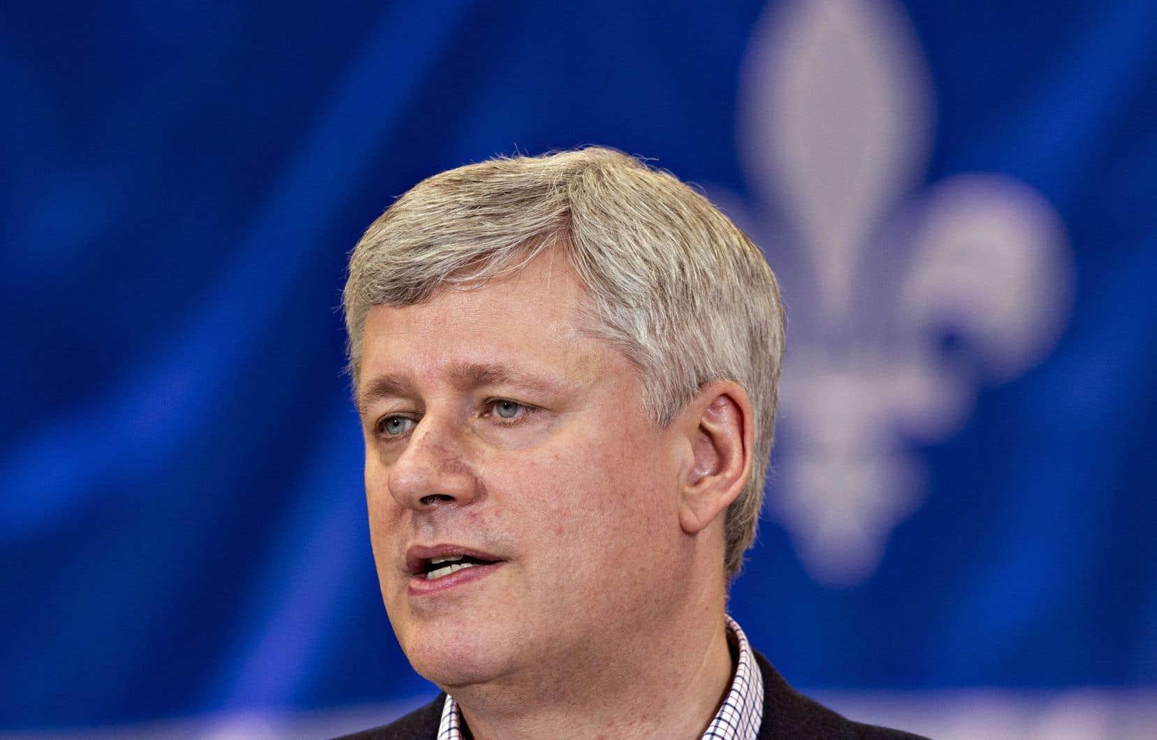 De passage à Saint-Apollinaire, sur la rive sud de Québec, Stephen Harper a salué vendredi l'aboutissement en sa faveur de la saga juridique entourant ce dossier.