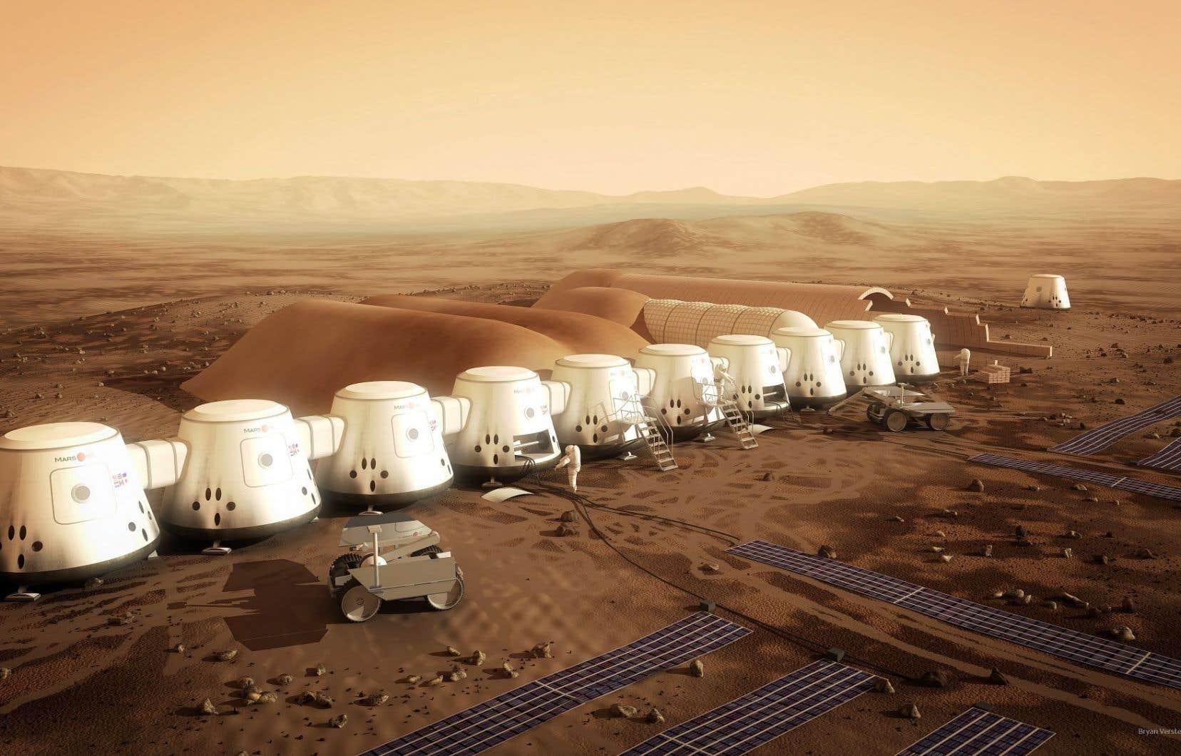Le projet Mars One vise à coloniser la planète Mars à partir de 2024. Si le voeux de son son idéateur se réalisent, quatre volontaires prendront alors un aller simple pour la planète rouge.