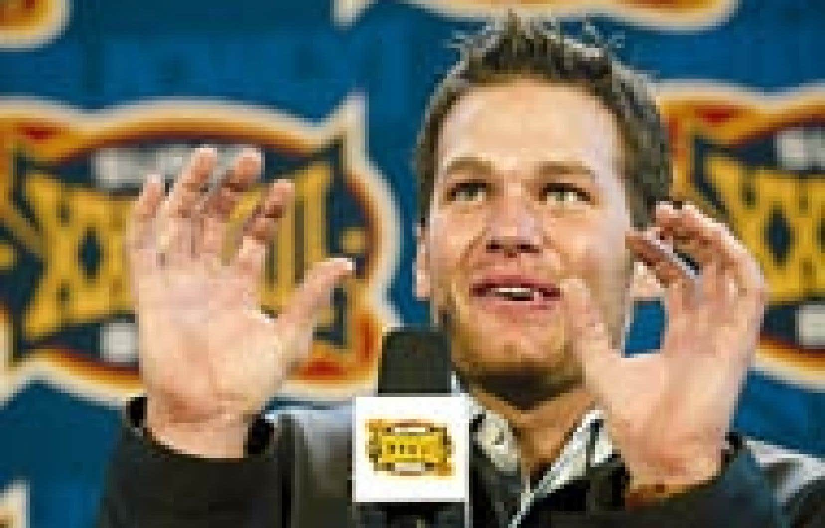 Tom Brady a décrit hier le jeu qui a permis à Mike Vrabel d'inscrire un touché, dimanche, lors du match du Super Bowl.