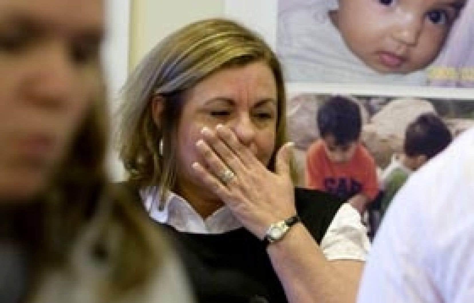 Johanne Durocher estime que le Canada n'en fait pas assez pour aider sa fille à se sortir du pétrin.