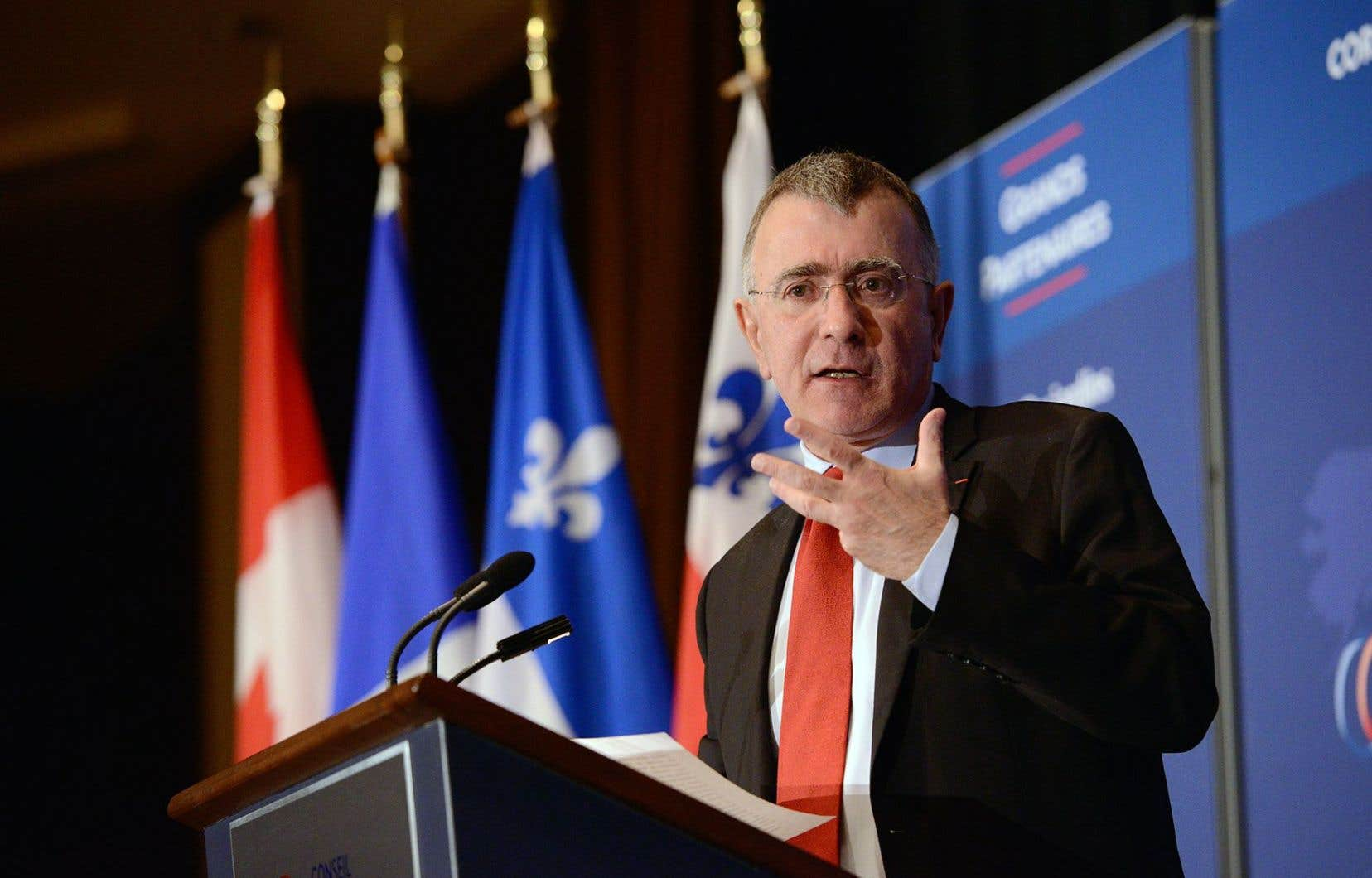 «Plus encore que la date de cette contribution, c'est le niveau d'ambition du Canada qui sera attentivement scruté [notamment] par d'autres États indécis», a fait valoir l'ambassadeur de France, Nicolas Chapuis.