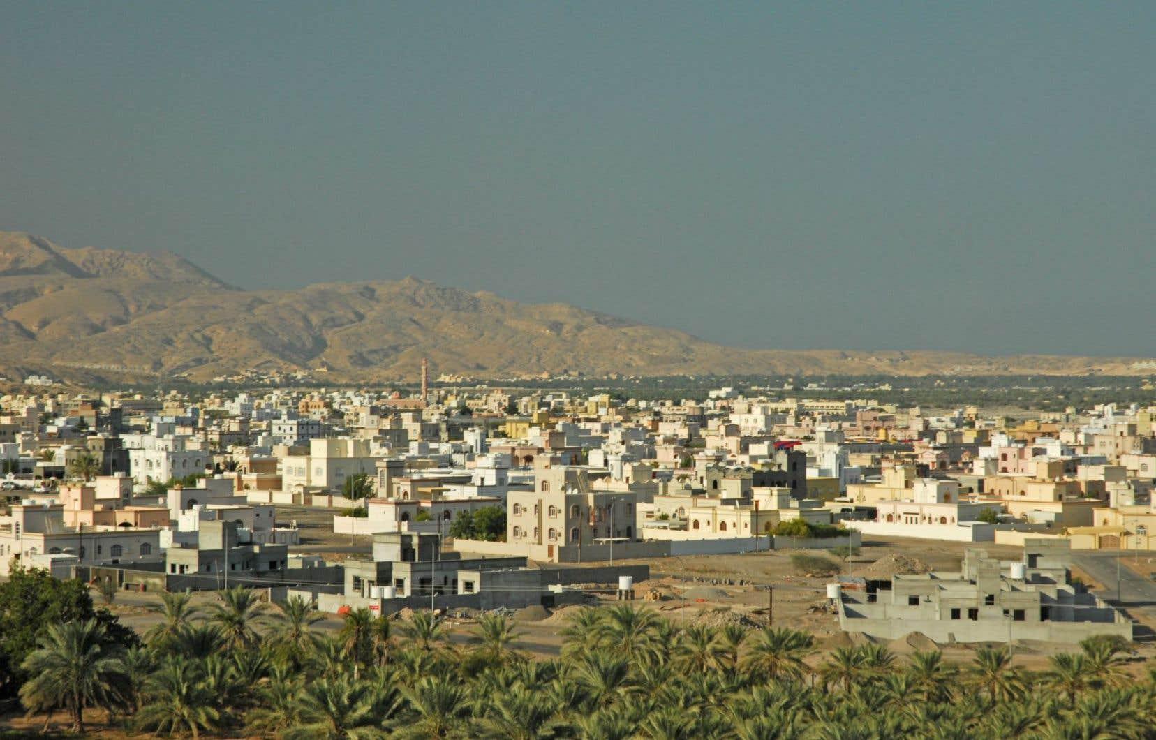 Quriyat, une ravissante ville côtière de la mer d'Oman.