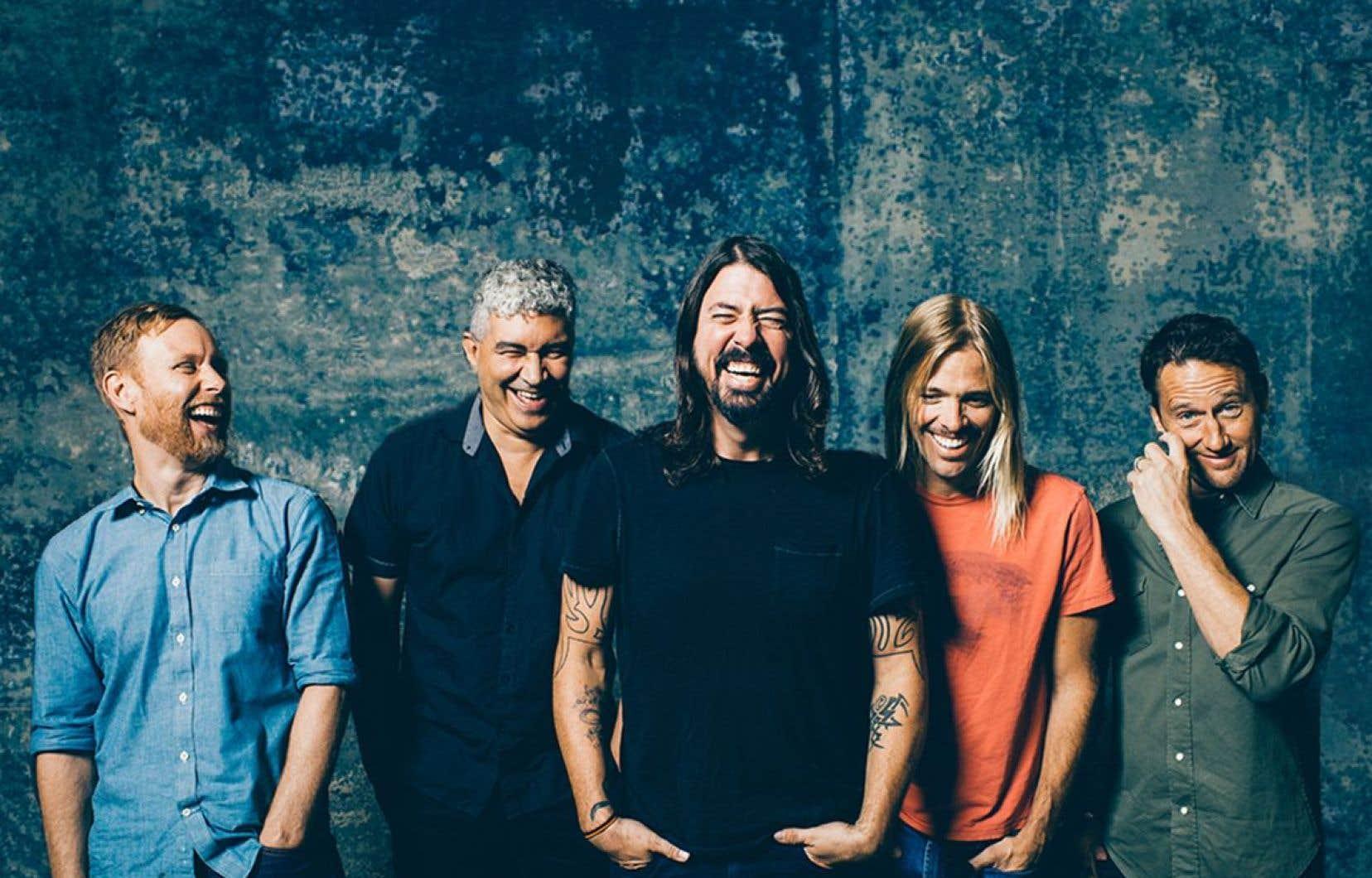 Le groupe Foo Fighters sera de la partie cet été au Festival.