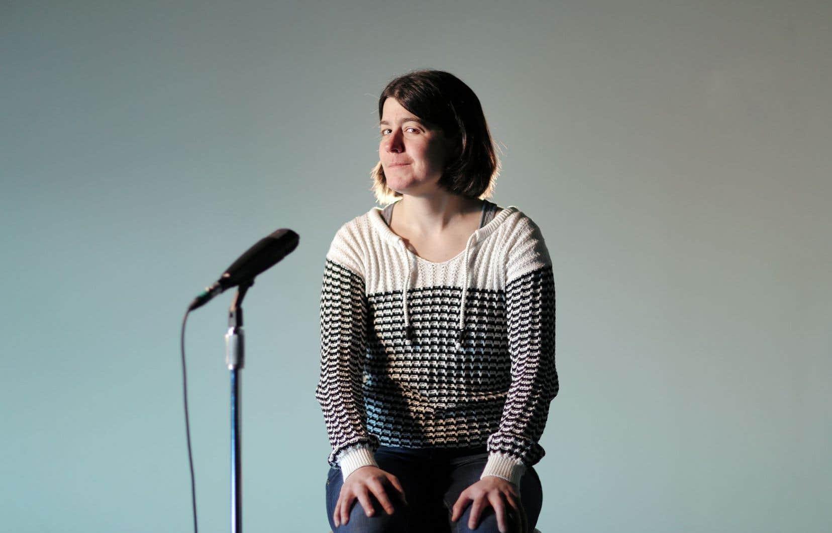 Annick Lefebvre, auteure de la pièce «J'accuse»