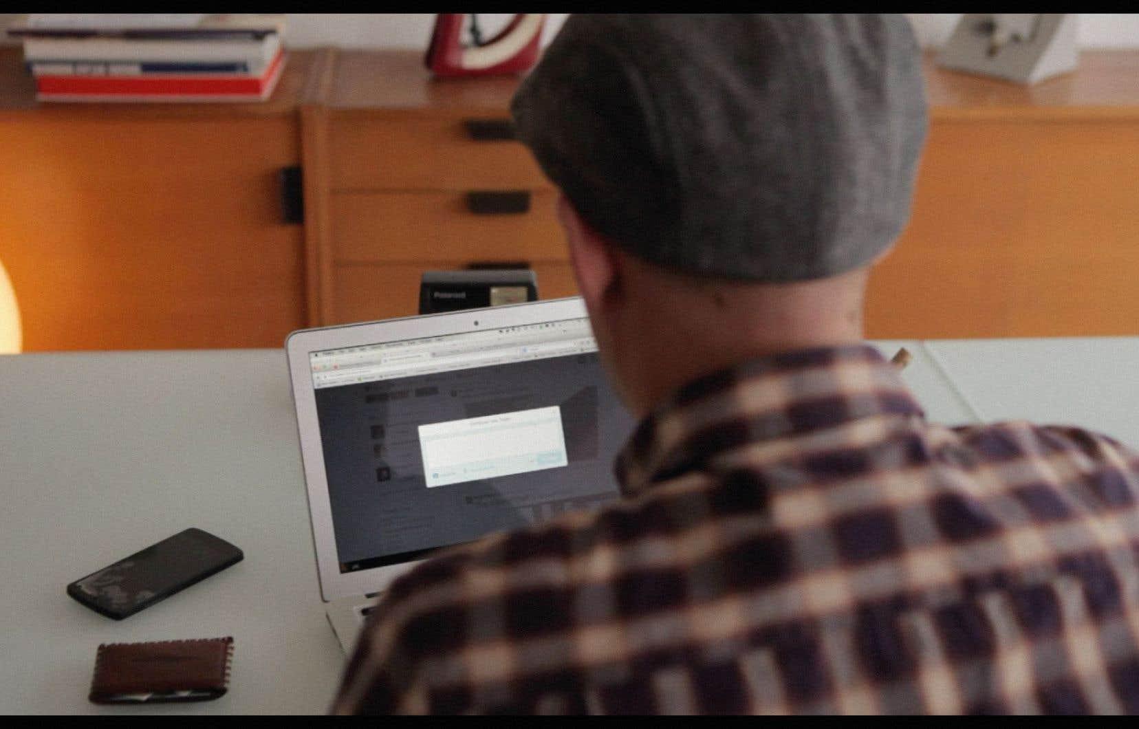 Une scène tirée du documentaire interactif «Traque interdite».