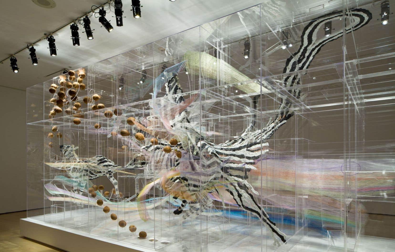 David Altmejd, «Le spectre et la main», 2012