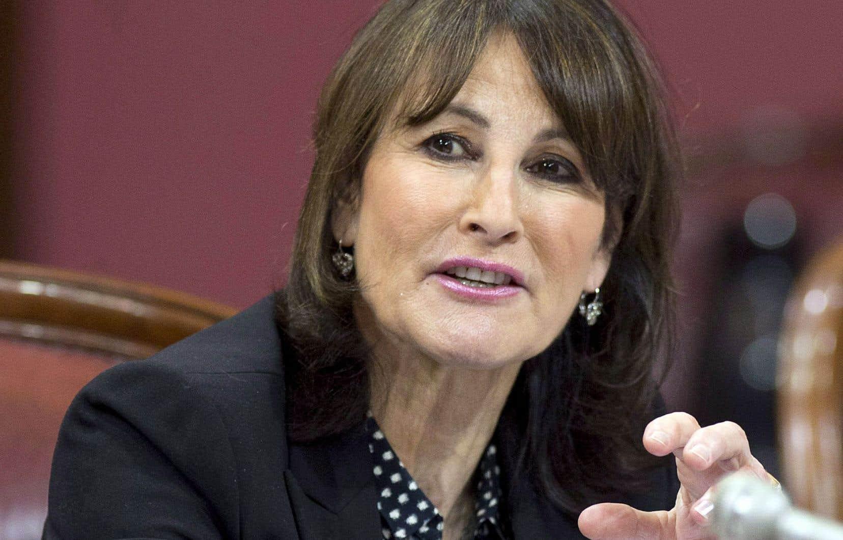 Kathleen Weil, ministre de l'Immigration, de la Diversité et de l'Inclusion