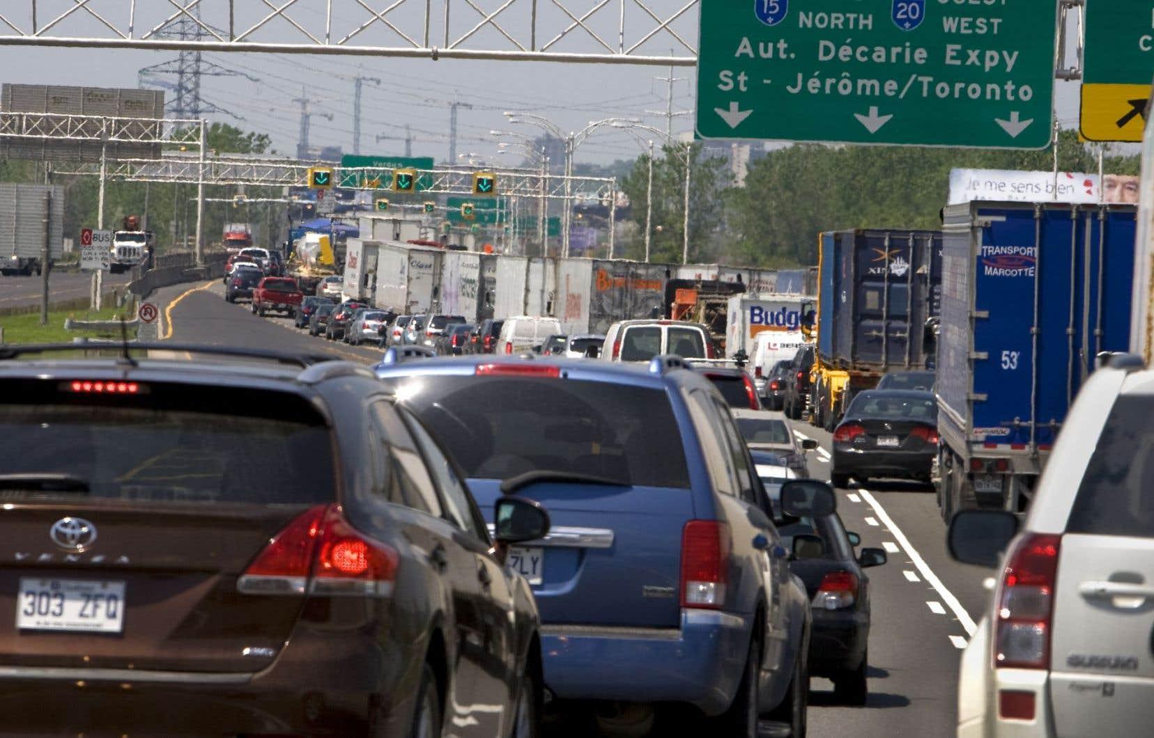 Le secteur du transport occupe toujours une part très importante du bilan de GES du Québec.