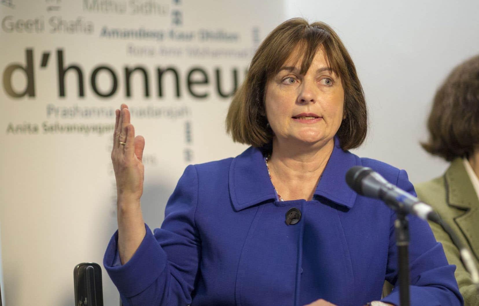 «Il y a longtemps que les femmes ont détenu si peu d'influence au sein d'un gouvernement québécois», déplore Julie Miville-Dechêne.