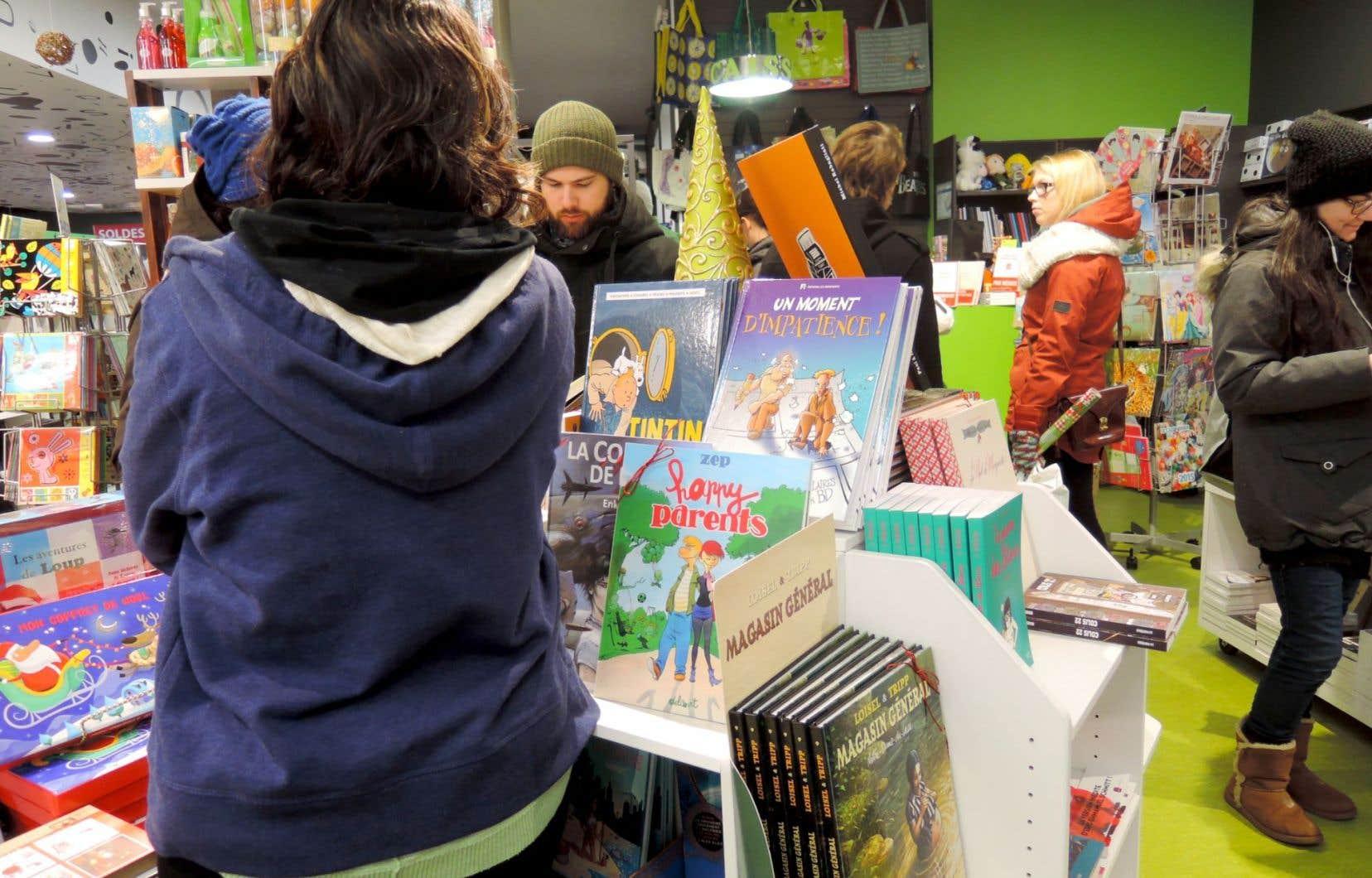 Les librairies indépendantes proposent entre 6000 et 50 000 titres et offrent un service de commandes spéciales parmi plus de 700 000 oeuvres en français.