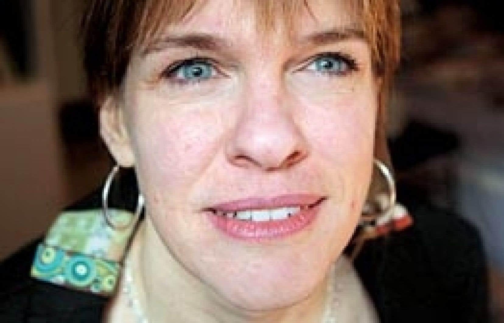 Josée Blanchette, blogueuse et chroniqueuse