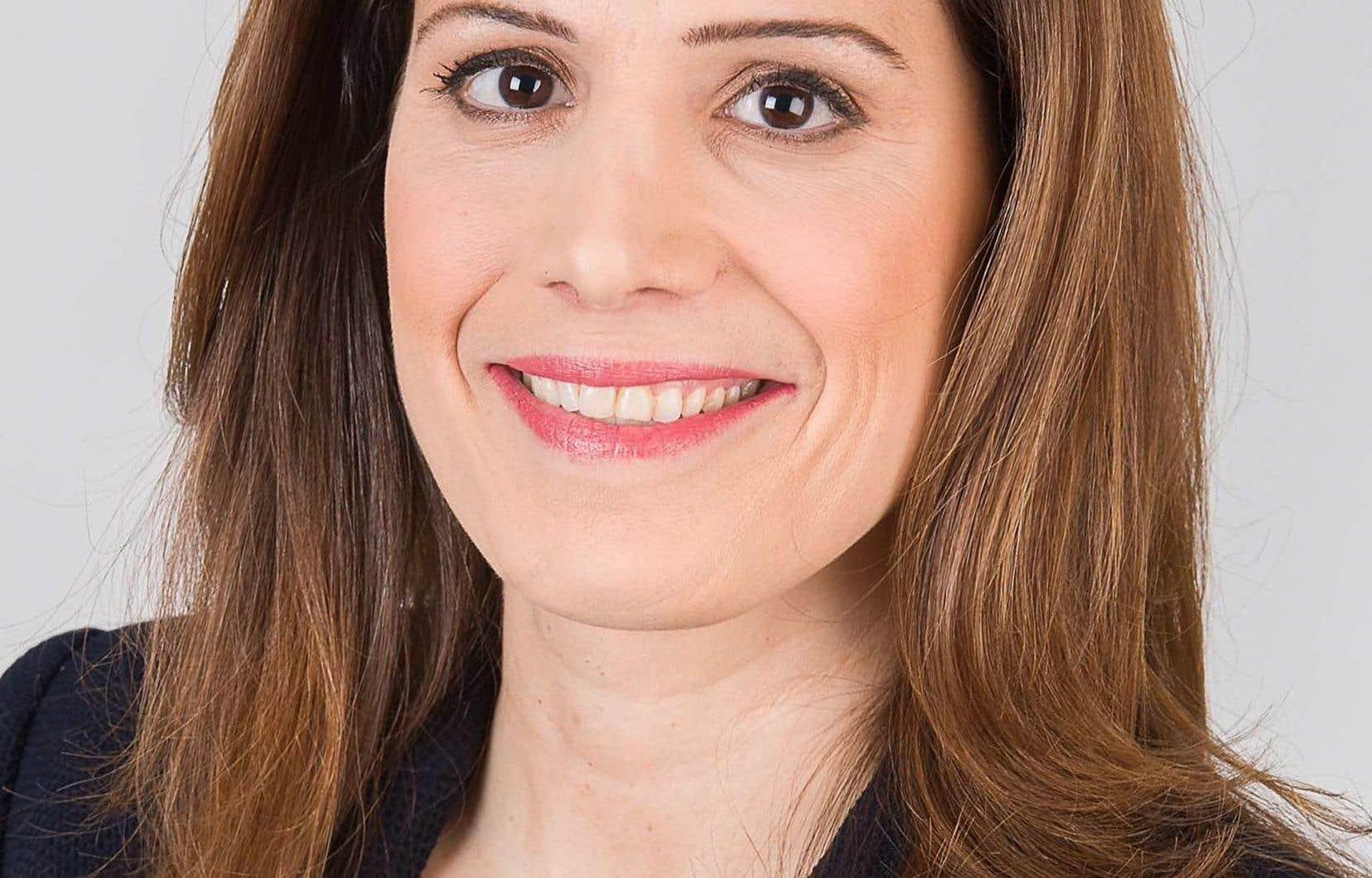Pascale Déry a quitté son poste de journaliste à TVA pour essayer de devenir candidate conservatrice dans la circonscription montréalaise de Mont-Royal.