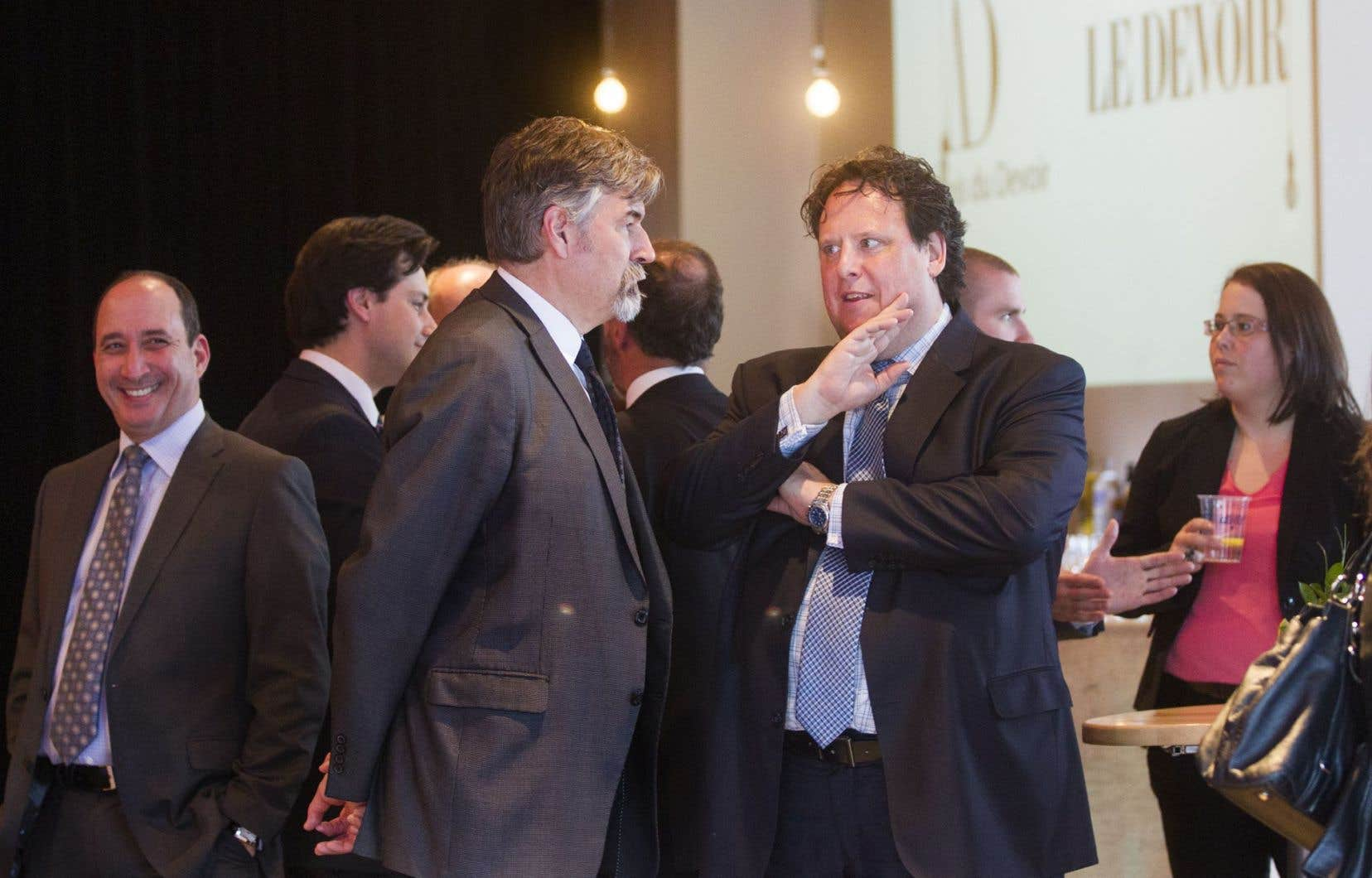 La conférence de Michel David a lancé des débats sur la situation de la liberté de presse au Québec.
