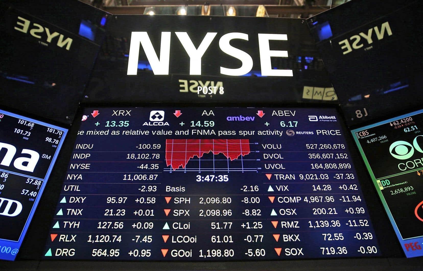 Dans leur ensemble, les résultats des multinationales américaines dévoilés au terme du premier trimestre évoquent les pressions exercées par la forte poussée du dollar américain.