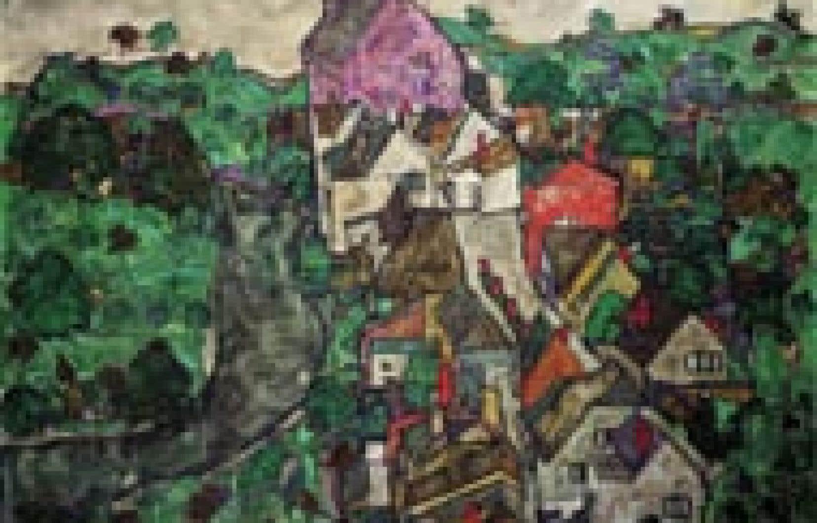 Un tableau du peintre expressionniste autrichien Egon Schiele, volé par les nazis en 1938, a atteint la somme de 12 660 000 livres (21 millions $US) lors d'une vente aux enchères organisée lundi à Londres chez Sotheby, rapportait hier le quotidien br