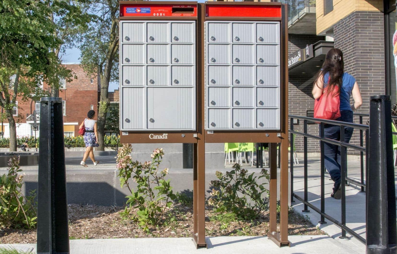 Ce sont des boîtes postales communautaires qui doivent remplacer la livraison du courrier à domicile.