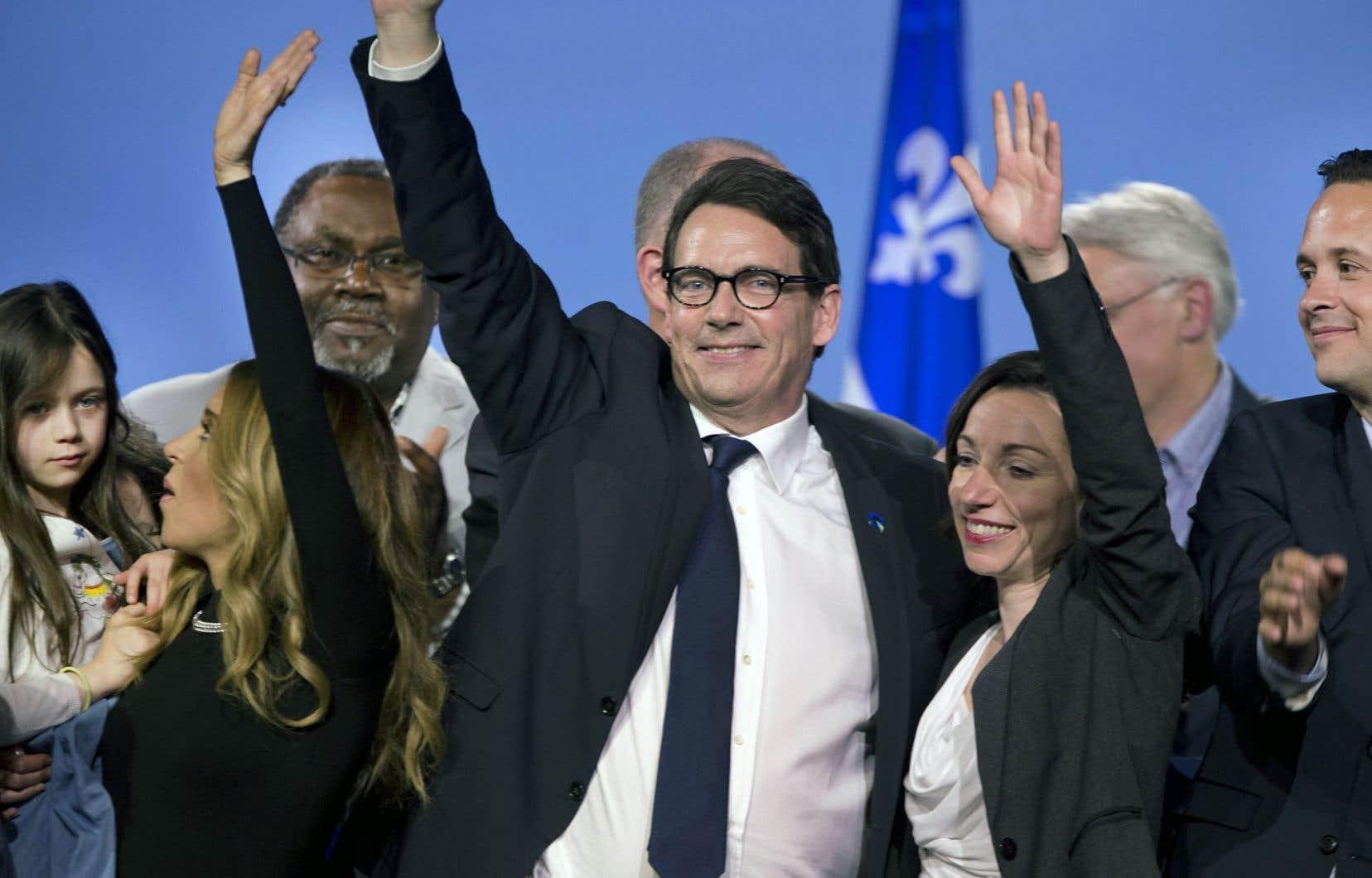 Pierre Karl Péladeau a livré un discours à saveur identitaire et a plaidé pour un rassemblement des forces souverainistes.