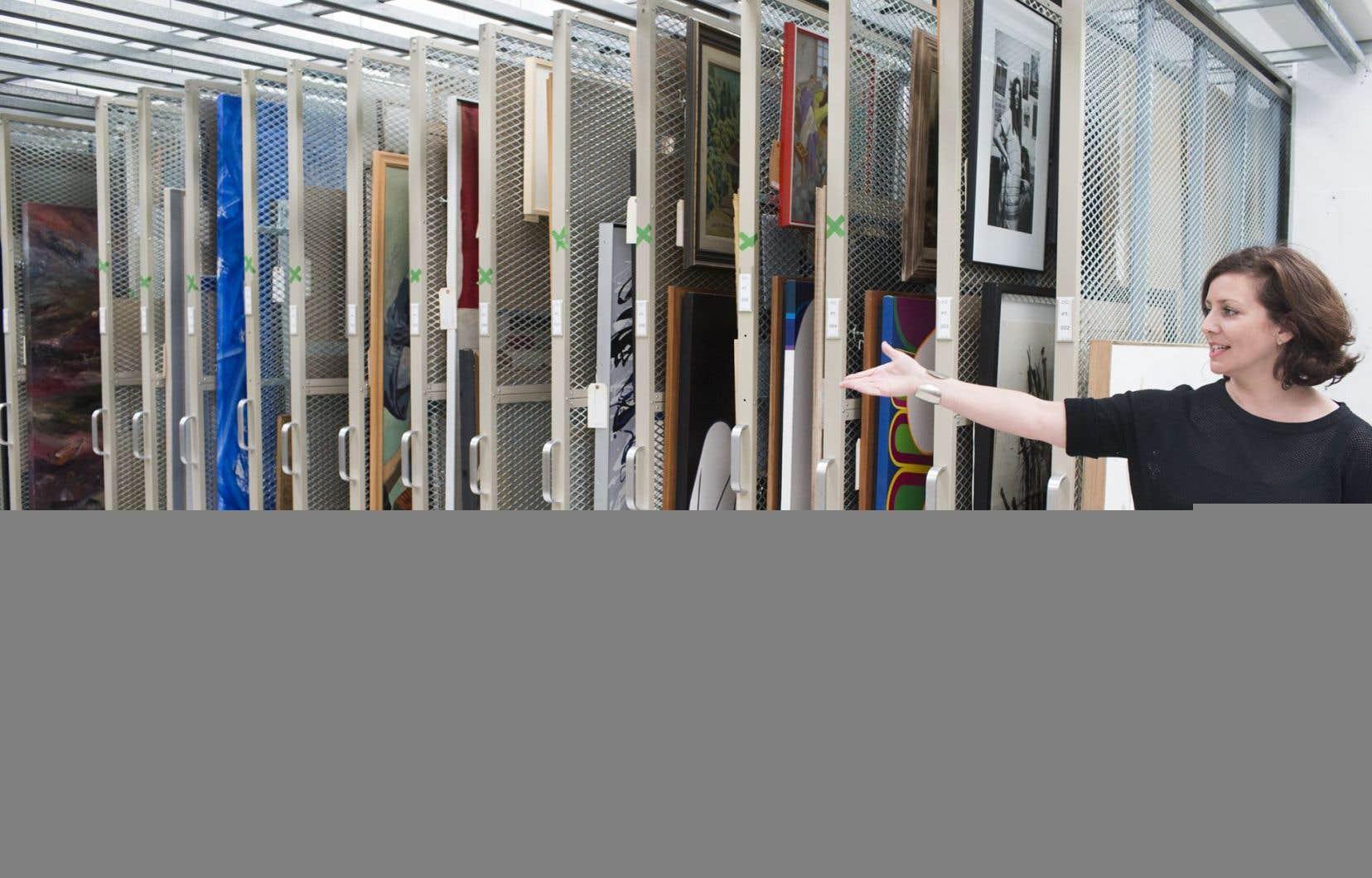 La directrice du Musée d'art de Joliette, Annie Gauthier