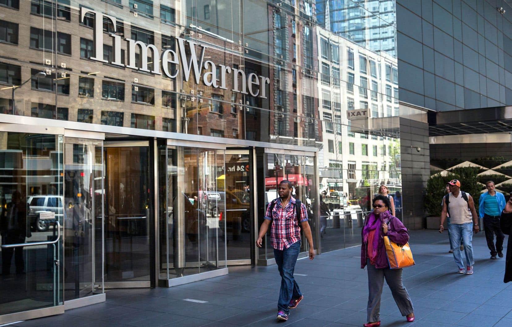 Le siège social de Time Warner Cable, à New York