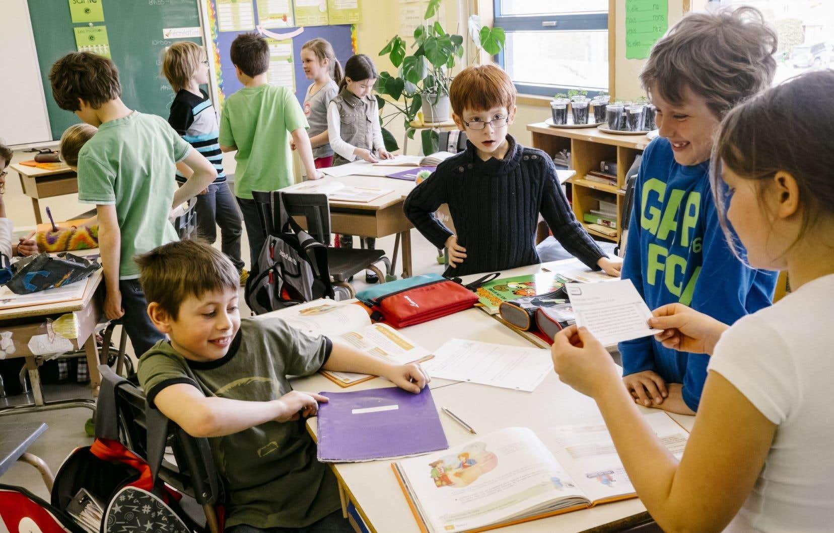 Pas moins de 84 % des répondants s'opposent à l'augmentation du nombre d'élèves par classe.