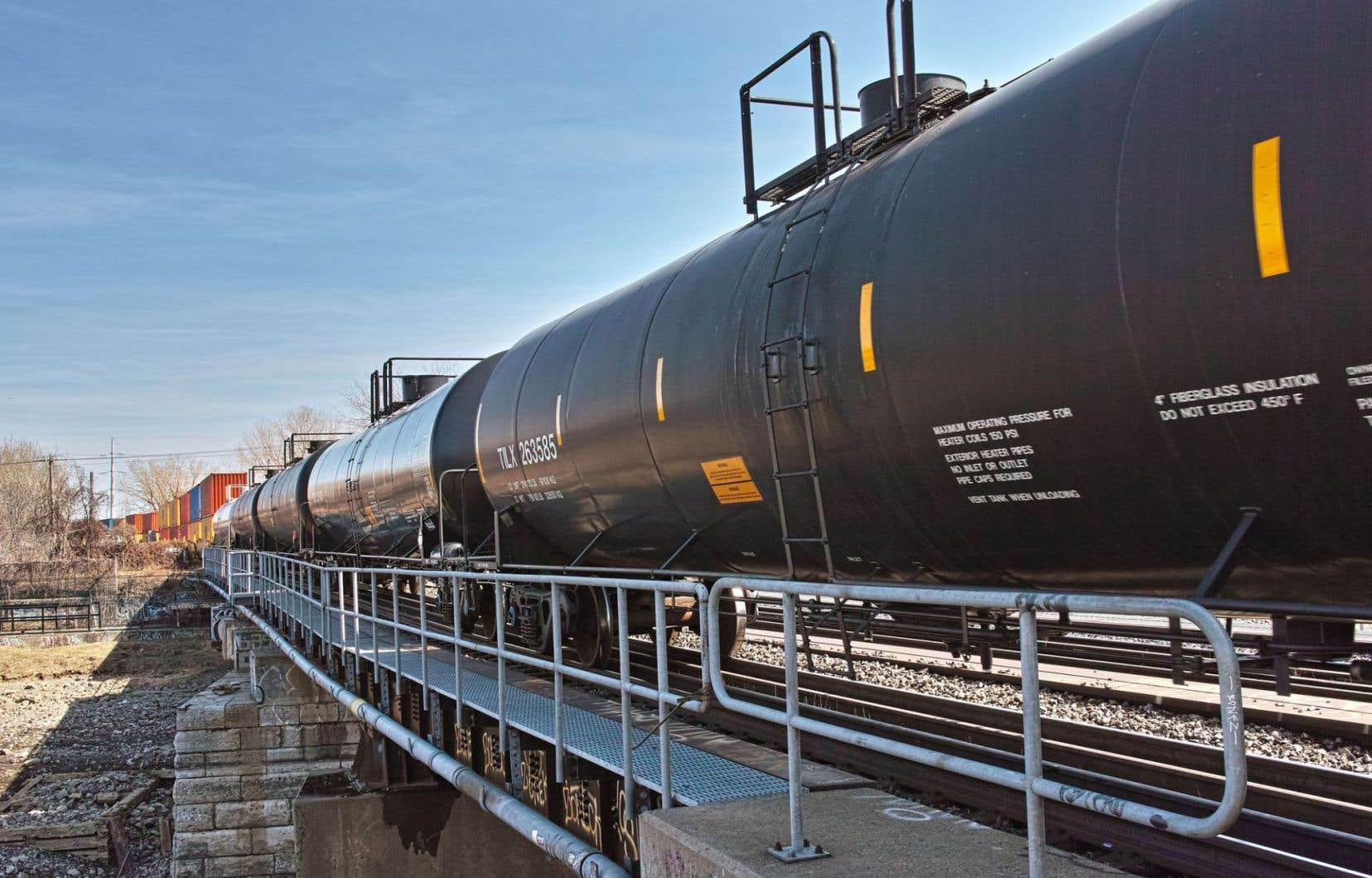 Les convois devraient emprunter la voie du CN et traverser plusieurs municipalités, dont Montréal.