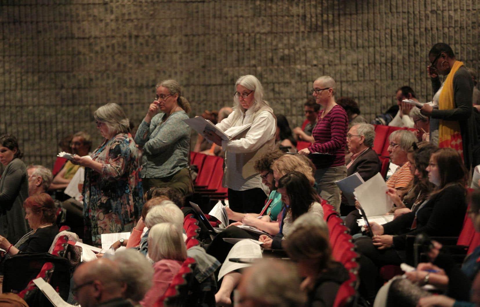 Le congrès annuel a attiré environ 500 militants. La formation se réclame maintenant de quelque 10 000 membres.