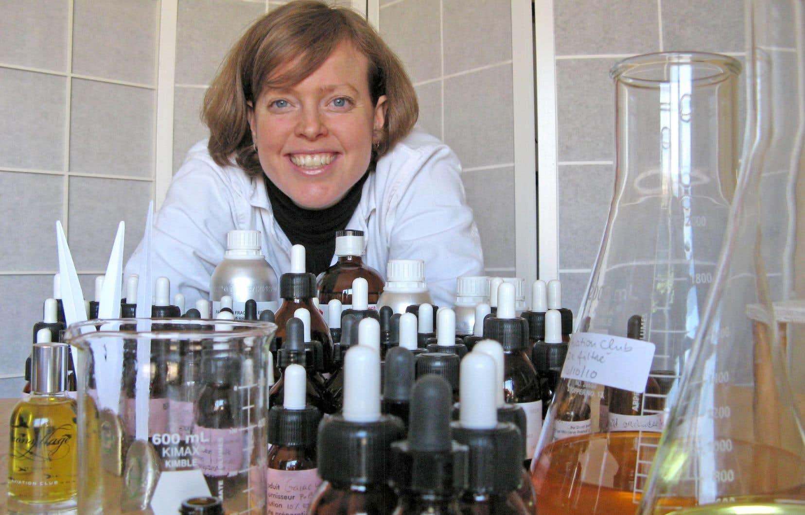 Isabelle Michaud, créatrice de parfums, a été primée à Los Angeles pour son parfum «Eau de céleri».