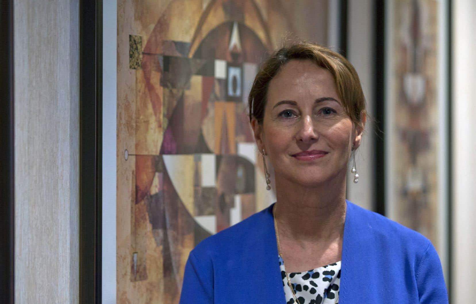 La ministre française de l'Environnement, Ségolène Royal, presse tous les pays de prendre conscience de «l'urgence climatique».