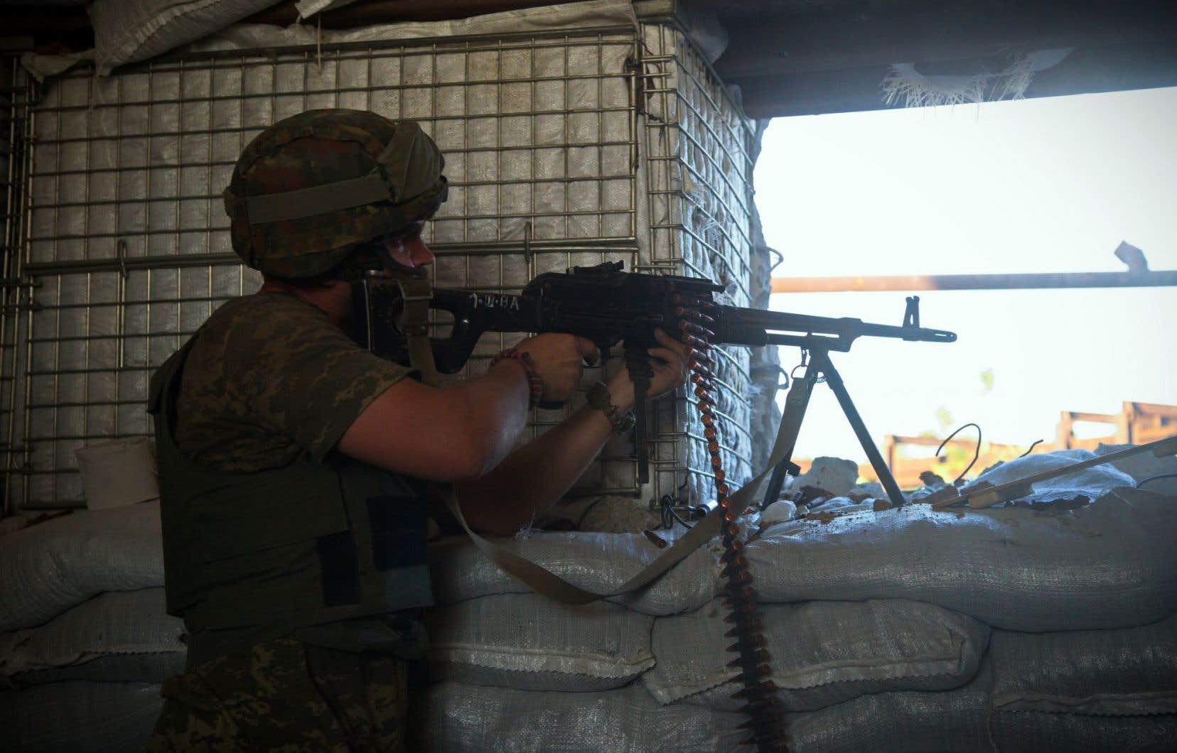 Des combats se poursuivent toujours dans l'est de l'Ukraine.