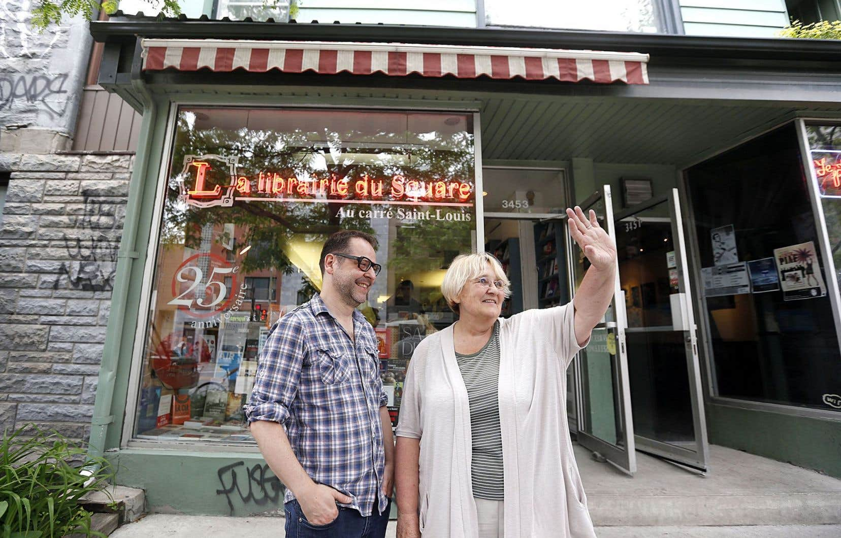 Françoise Careil vend sa célèbre librairie du carré Saint-Louis à Éric Simard.