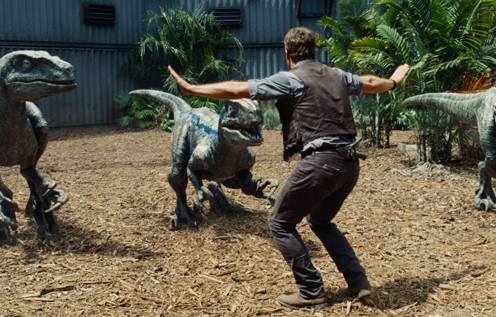 En Amérique du Nord, le film <em>Jurassic World </em>a amassé 204,6 millions depuis sa sortie vendredi.