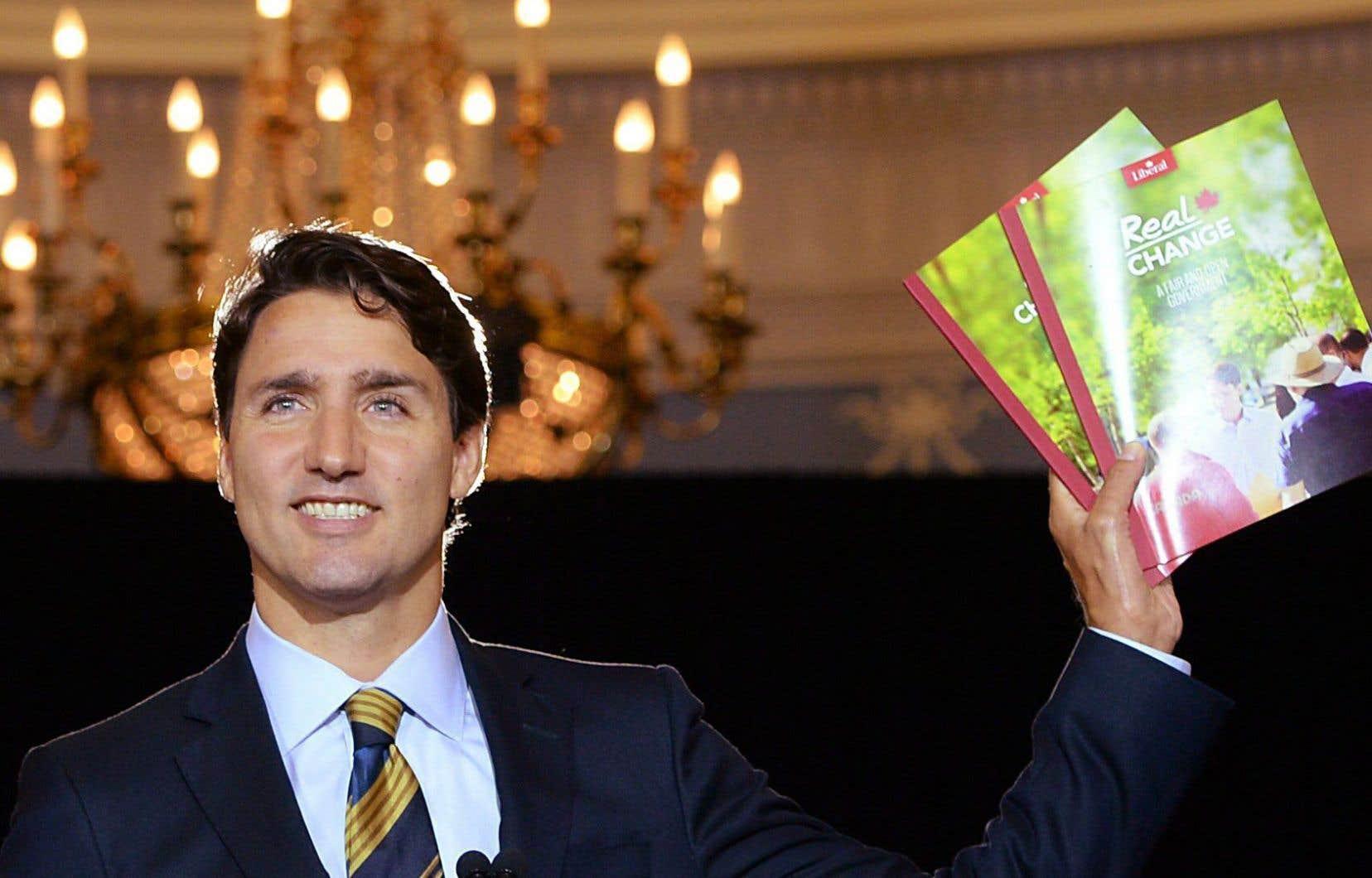 Le chef libéral Justin Trudeau promet une réforme en profondeur du système électoral canadien s'il prend le pouvoir cet automne.