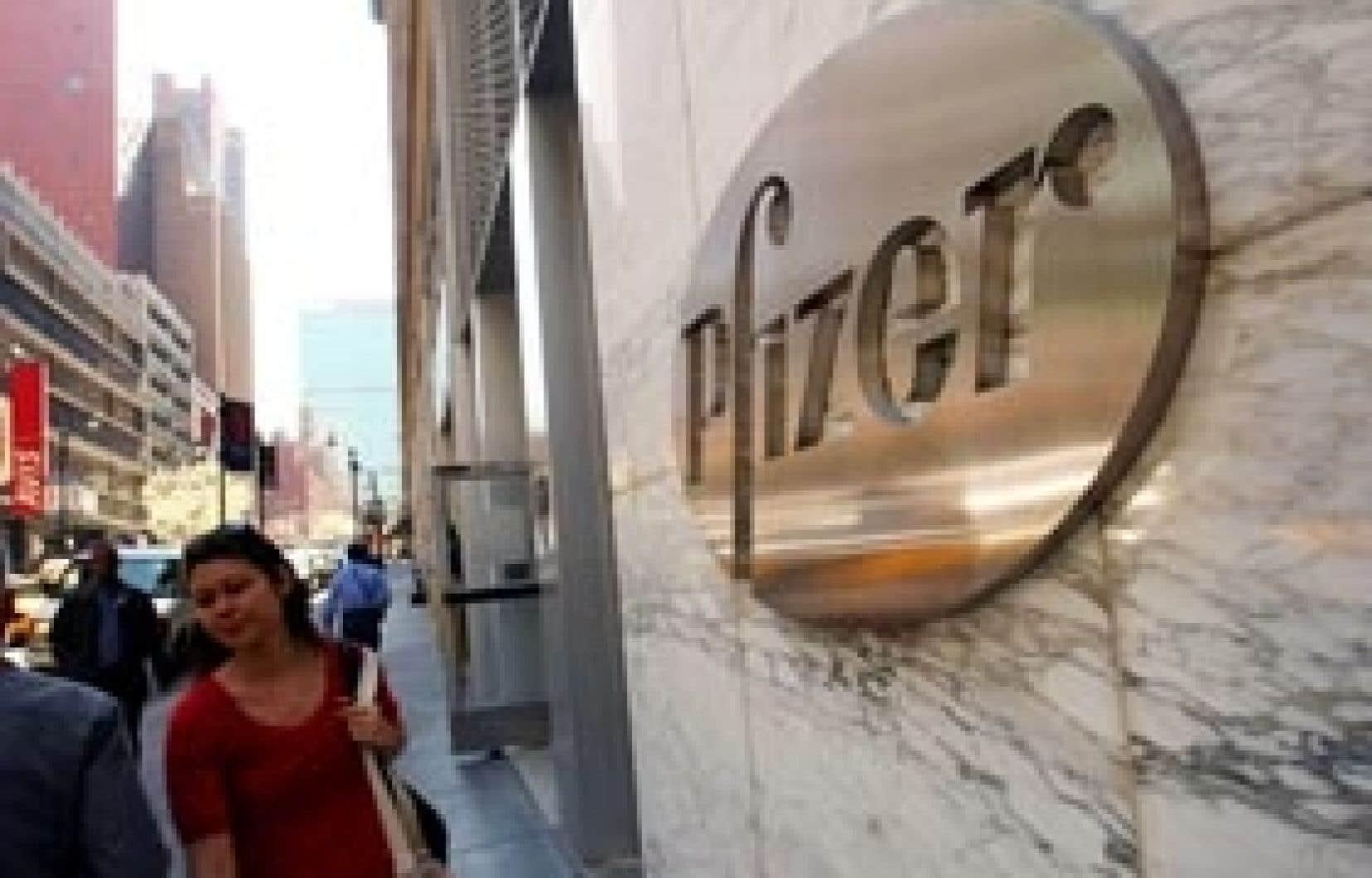 Le siège social de Pfizer à New York. Le groupe pharmaceutique était poursuivie pour des campagnes concernant quatre de ses médicaments: le Bextra, le Zyvox, le Geodon et le Lyrica.