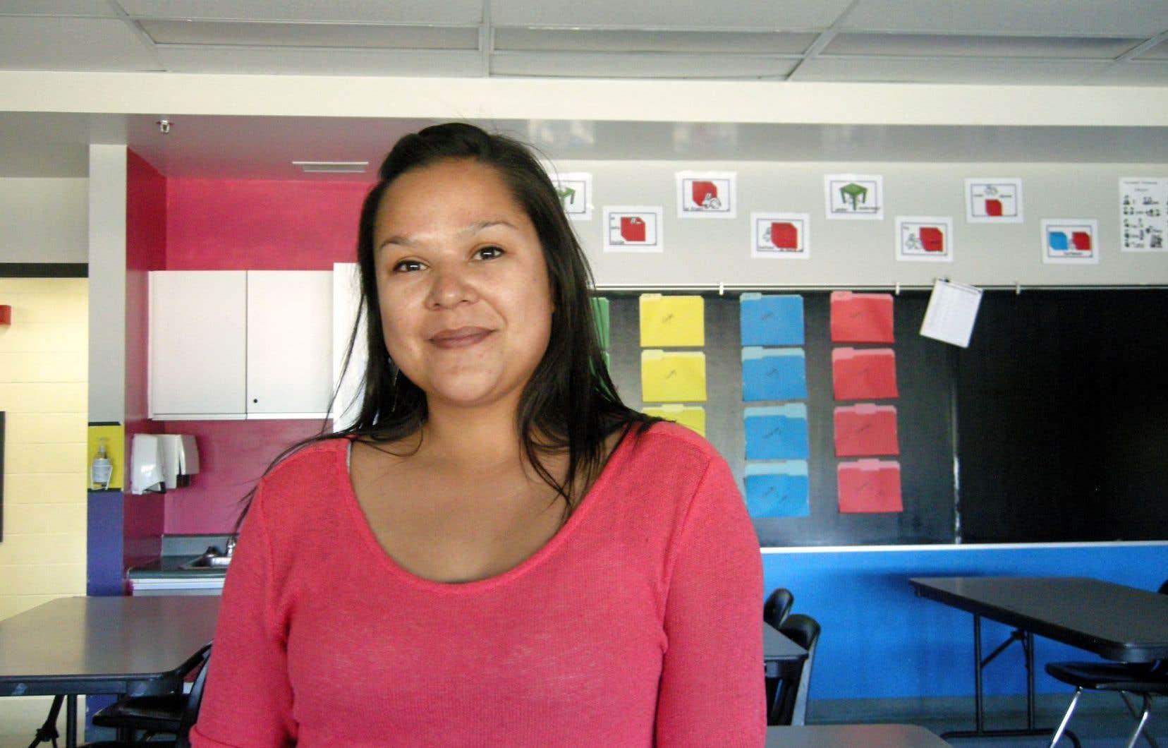 Naomi Fontaine espère affranchir ses élèves de l'image de l'autochtone misérable.