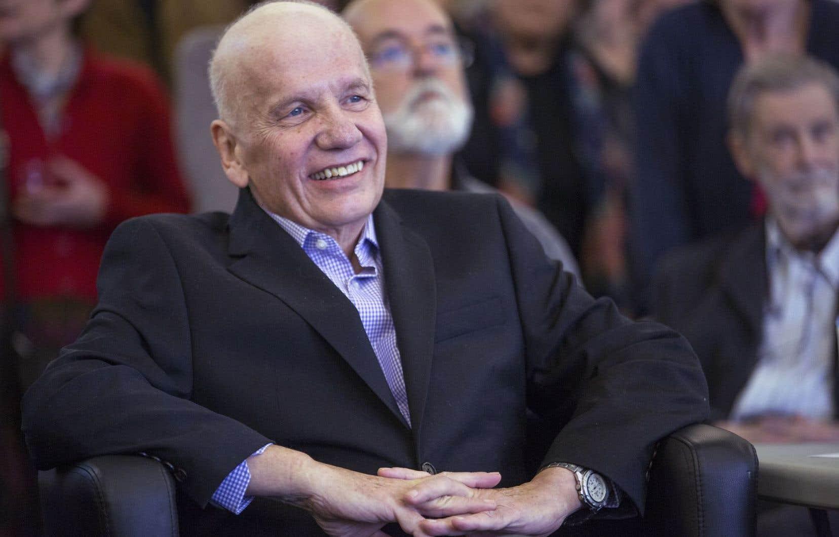 Jean Doré en 2014, lors d'une cérémonie lui rendant hommage.
