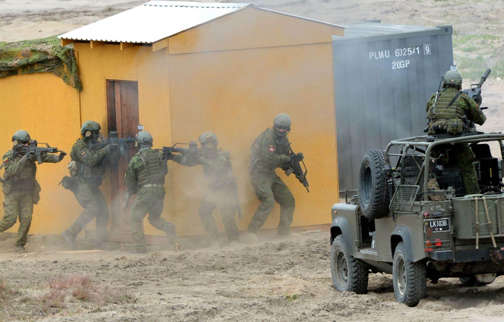 À la suite du conflit en Ukraine et du comportement de Moscou dans la région, l'OTANva accélérer son processus décisionnel.
